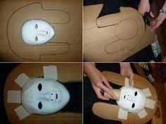 pappmache-masken-selber-machen-ägyptische-pharao-maske