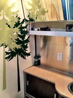 Decorating an Airstream Bathroom!