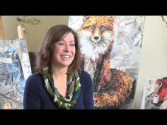 Video producer assembles second career as collage artist - YouTube