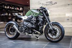 Ottonero Cafe Racer: – VTR Customs - Cars and motor Bmw Cafe Racer, Cafe Racer Motorcycle, Motorcycle Design, R Cafe, Moto Cafe, Bobber Custom, Custom Bikes, Custom Cycles, Bmw R1200r