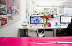 Inside @C. Wonder's NYC headquarters #colorful #workhappy #officeinsider