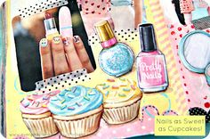 fashion inspired art journaling by jenny holiday