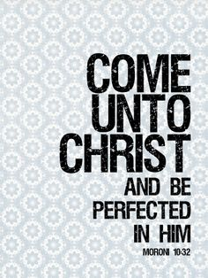 Moroni 10:32 - YW YM mutual theme 2014 - I looked for this 2 days ago and it wasn't up yet! Yay!! I love it!