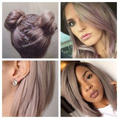 Photos: FX Hairstudio, thegloss.com, websta.me, gypsywarrior.com This formula is a happy medium between two of my favorite color trends: rose gold and gray violet. Rose gold is slightly warm...