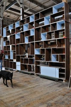 WOOD DESIGN INSPIRATION || Bookcase & Shelving by Kerf || #wood #bookcase #shelving #furniture