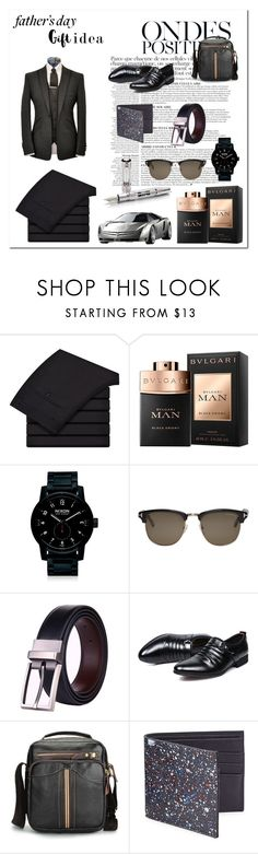 """""""father's day gift ideas"""" by smile2528 ❤ liked on Polyvore featuring Anja, Bulgari, Nixon, Tom Ford, Maison Margiela, men's fashion and menswear"""