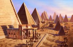 Nubia was a rich and powerful kingdom south of Egypt. Sometimes a trading partner, sometimes subjugated, sometimes Egypt's conqueror. Its rulers built hundreds of pyramids of their own.