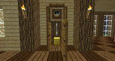 Minecraft Furniture - Decoration - Minecraft Grandfather Clock