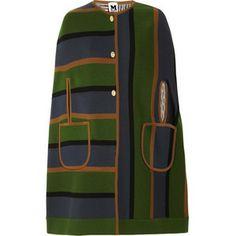 M Missoni multicolored cape