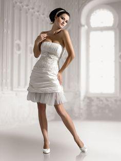 Elizabeth WD40012 süss Kurz/Mini Brautkleider
