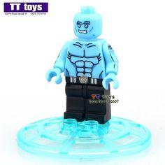 White Deadpool Single Sale X-man Dolls Building Block Model Toys DIY Assemble Figure Children Gift Toys