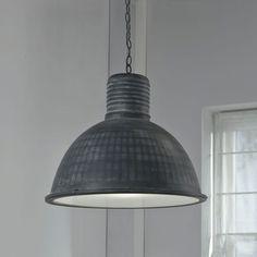 Hanglamp 'Constance', Ø52 industrieel, kleur grijs