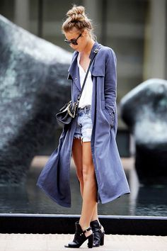 Popular Coat Style-Duster Coat. 從 Kendall Jenner 到 Miranda Kerr,每個時尚女孩必備的冬季外套! | Popbee - 線上時尚生活雜誌