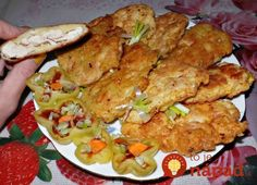 Chicken steak in potato batter / Culinary Universe Healthy Diet Recipes, Cooking Recipes, Czech Recipes, Ethnic Recipes, Chicken Steak, Chicken Cutlets, Home Food, Food Design, How To Cook Chicken