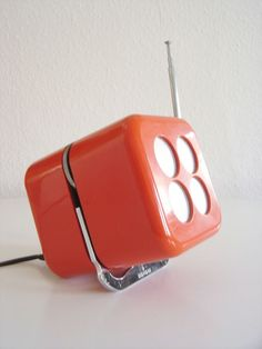 KULTOBJEKT Würfelradio SIEMENS RK 501 Alpha 2 MARIO BELLINI Cube Radio 60ER/70ER Mario, Bellini, Cube, Lights, Ebay, Vintage, Design, Lighting