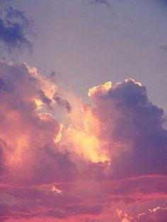 céu nuvens sky clouds pastel pink