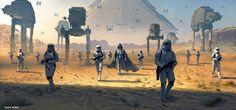 Star Wars. Vaders army.