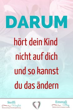 Kennst Du Das Auch You may also know this and occasionally or more often you may feel that your child is simply not listening to you. Why is that, the 5 reasons behind it and especially how or w Parenting Teens, Parenting Humor, Kids And Parenting, Parenting Hacks, First Week Of Pregnancy, Peaceful Parenting, Co Working, Family Traditions, Baby Hacks
