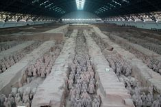 About 8,000 Terracotta Warriors were buried in three pits less than a mile to the northeast of the mausoleum of the First Emperor of China, Qin Shi Huangdi. They include infantryman, archers, cavalry, charioteers and generals. Now new research, including newly translated ancient records, indicates that the construction of these warriors was inspired by Greek art.