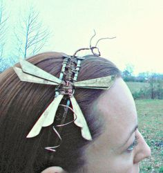 Dragon Wire Wrap Headband by MelsMakeBelieve on Etsy, $42.00