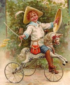 Boy on toyhorse (154 pieces)