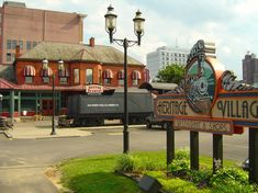 Heritage Station - Huntington, WV -used to eat at Heritage Station and play on the train when I was little!