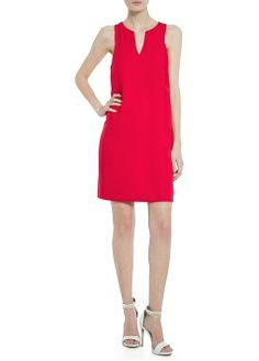 MANGO - NEW - Crepe shift dress