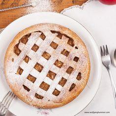 Apfelgitterkuchen » Kochrezepte von Kochen & Küche Apple Pie, Food And Drink, Desserts, Drink Recipes, Baking, Apple Crumble Recipe, Dessert Ideas, Food Food, Apple Cobbler
