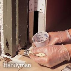 How to Repair Rotted Wood - Article | The Family Handyman