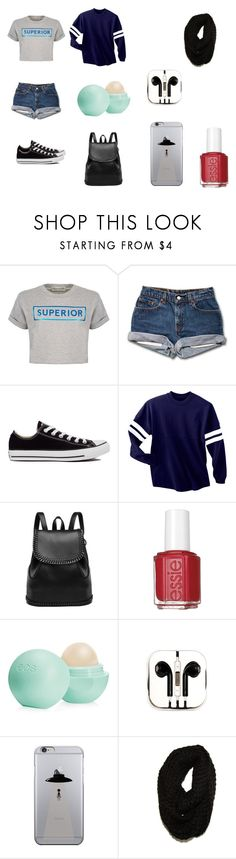 #3 by mili-gaarcia on Polyvore featuring moda, Être Cécile, Converse, PhunkeeTree, Paula Bianco, Eos and Essie