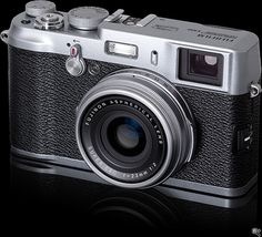When the Fuji X100 comes out, it'll be closest you can get to retro-cool without going back to film.