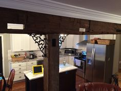 Customer Steven Schaffer incorporated salvaged goods purchased from Southern Accents into his kitchen remodel -www.sa1969.com