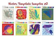 Vector Template Shapes #2 by The Thrill of Design on @creativework247