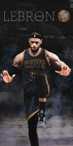 Lebron James Cleveland Cavaliers Poster #11 Multiple Sizes