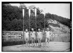 ROWING: Columbia Varsity four, 1913