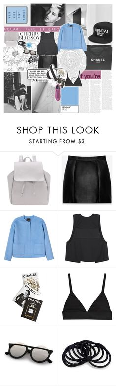 """""""AT LEAST I DID IT MY WAY ♡"""" by feels-like-snow-in-september ❤ liked on Polyvore featuring Chanel, PAM, Yves Saint Laurent, Monki, T By Alexander Wang, Assouline Publishing, adidas, melsunicorns and gottatagrandomn3ss"""