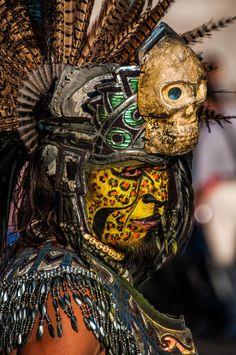 Artista callejero . Zócalo. Ciudad de México