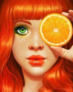 """Você sabia que a laranja a maçã e a cereja são ótimas aliadas no combate à celulite? Pois é... quem diria que a frutinha de mesmo nome pode ajudar a lutar contra o efeito """"casca de laranja"""" da pele né..."""
