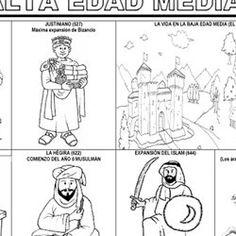 LA EDAD MEDIA (Juegos, actividades y materiales de 5º de Primaria) | Pearltrees Peanuts Comics, Education, Social Science, Middle Ages, Knowledge, Tights, Castles, Onderwijs, Learning