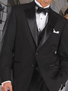 149254f1c7c4 2 Button Wool Black Tuxedo. This stunning tuxedo is factory hangar packed  with all tags