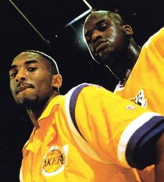 L.A. Lakers Legends Kobe Bryant & Shaq .