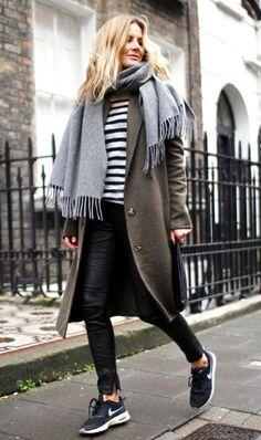 Use stripes like a stylish neutral.