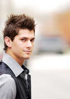 awesome Men Spiky Hairstyles - Stylendesigns.com! Check more at http://stylendesigns.com/men-spiky-hairstyles/
