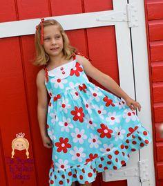 """The Madison Dress""- Vintage Style Sun Dress"