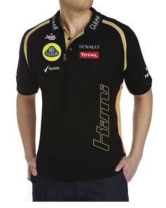 LOTUS F1 KIMI POLO SHIRT - Lotus Store