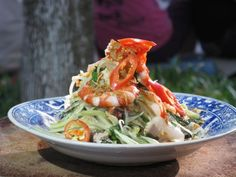 Get Green Papaya Salad with Prawn and Pork: Goi Du Du Tom Thit Recipe from Cooking Channel