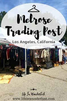 Looking for fun, unique things to do in the Los Angeles area? Visit the Melrose Trading Post for some shopping, eating and unique finds!