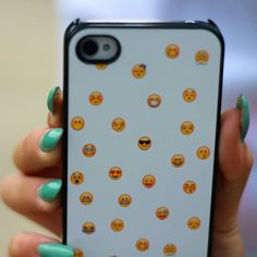 Emoji-print-phone-case