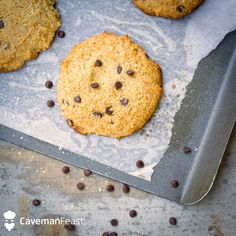 Try this Double Chocolate Chip Cookies from the Caveman Feast app