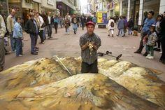 16 Amazing Examples of Amazing Sidewalk Art | Creativeoverflow